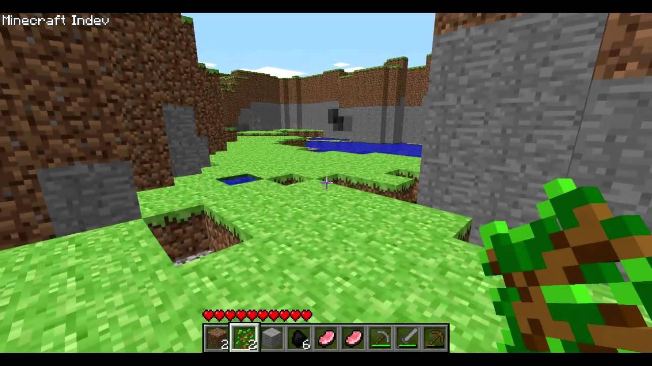 minecraft indev download!(Old Minecraft) - YouTube