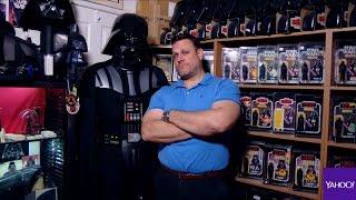 'Star Wars' fan has 63,000 Darth Vader items