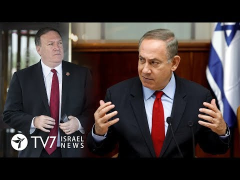 PM Netanyahu praises newly appointed US secretary of state Pompeo - TV7 Israel News 15.03.18