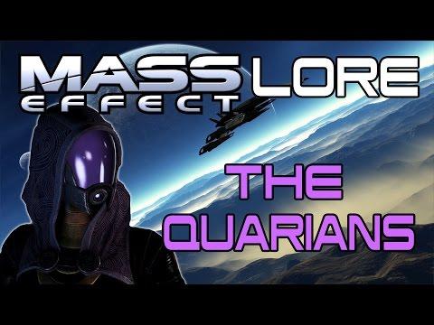 Mass Effect Lore  -The Quarians