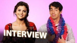 Selena Gomez & Joe Jonas Interview | HOTEL TRANSYLVANIA 3: SUMMER VACATION (2018)