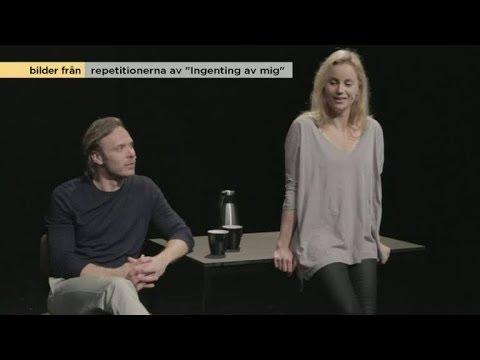 Sofia Helin och Björn Bengtsson efter premiären av Ingenting av mig - Nyhetsmorgon (TV4)
