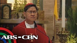 TV Patrol: 'Mga haring puno ng kayabangan,' pinatungkulan ni Cardinal Tagle sa homiliya