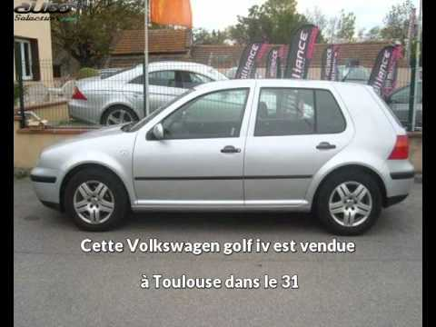 volkswagen golf iv occasion visible toulouse pr sent e par alliance automobiles youtube. Black Bedroom Furniture Sets. Home Design Ideas
