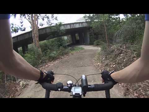 How to enter Lane Cove National Park by bike