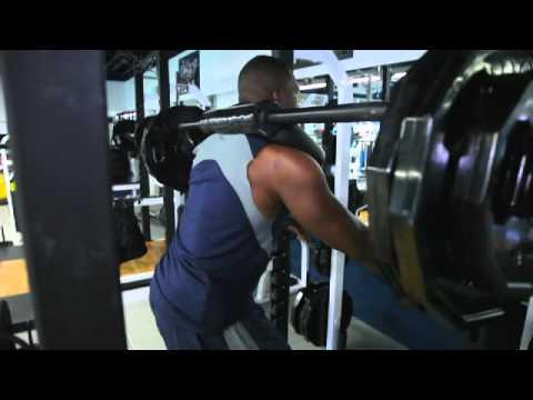 Antonio Gates Workout Safe Squats Youtube