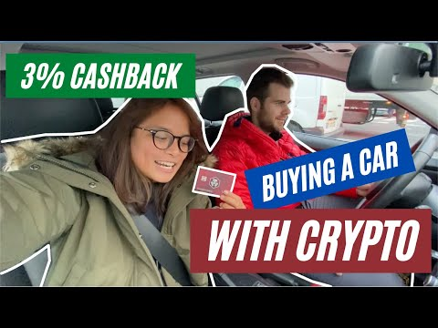 WE BOUGHT A 4x4 CAR IN PARIS WITH CRYPTO AND GOT 3% CASHBACK!! #Crypto #Car