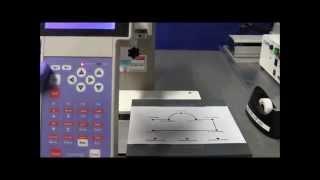 Programming a dispensing pattern on a Fisnar F4200 Robot
