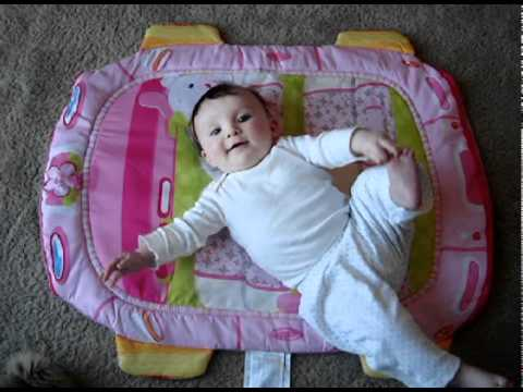 Rolling Over 101 (4 Month Old Baby) - YouTube