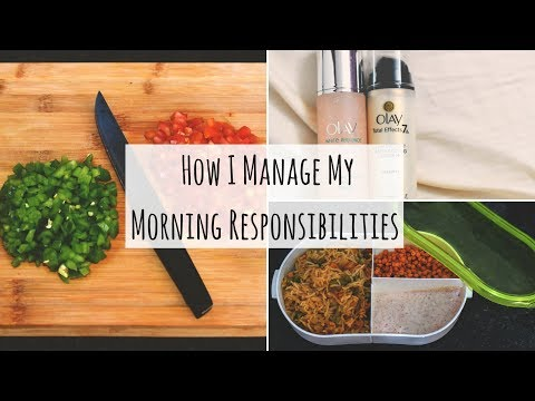 How I Manage My Daily Morning Responsibilities   Indian Youtuber Work From Home Morning Routine