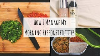 How I Manage My Daily Morning Responsibilities | Indian Youtuber Work From Home Morning Routine