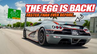 THE KOENIGSEGG CCX IS FINALLY BACK! 2X BIGGER SUPERCHARGER INSTALL COMPLETE! *it's scary fast*