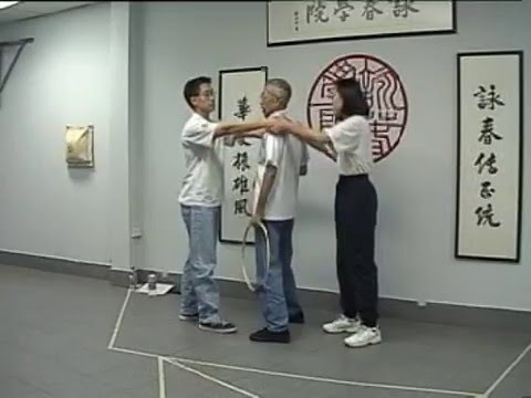 Chu Shong Tin breaks down the Ving Tsun Chum Kiu form | Part I