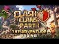 Clash of Clans Walkthrough: Part 1 - The Adventure Begins! - PC Gameplay Playthrough 60fps