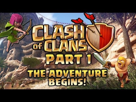 Clash of Clans Walkthrough: Part 1 - The Adventure Begins! - PC Gameplay Playthrough 60fps