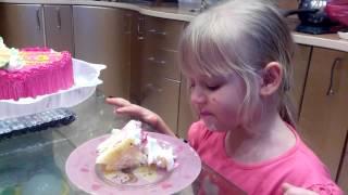 """8 марта """"Не надо мне ложки, буду есть торт языком"""""""