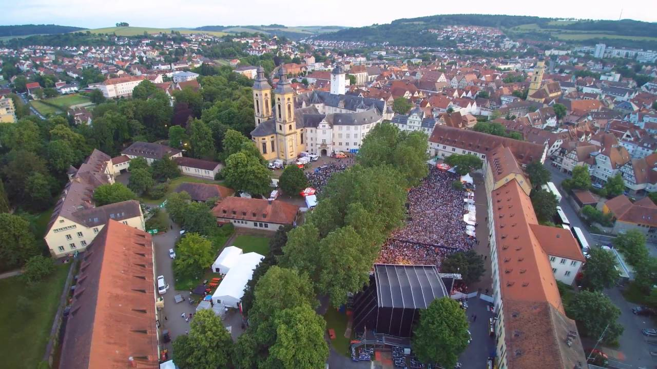 cro in concert in bad mergentheim aerial video impression youtube. Black Bedroom Furniture Sets. Home Design Ideas