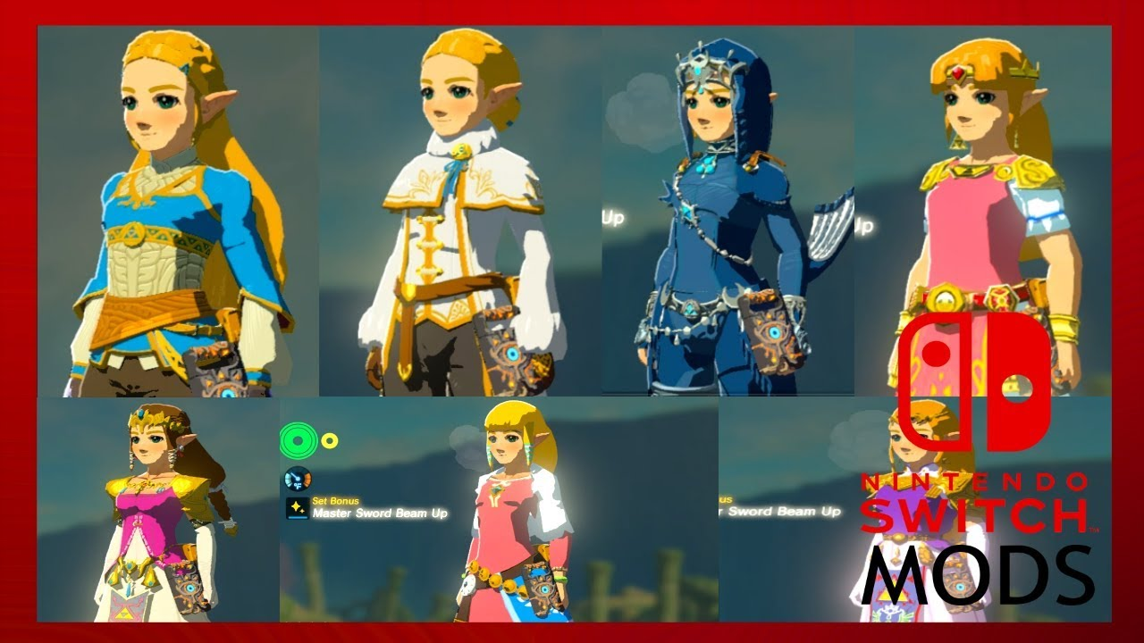 All Currently Released Zelda Outfits