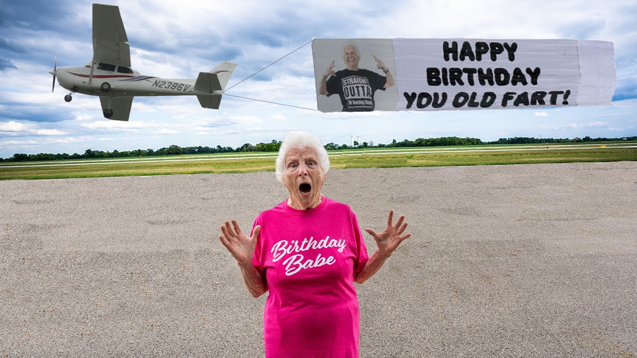 Grandma Smith's 94th Birthday Surprise **SHOCKING** | Ross Smith