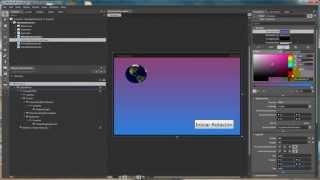 Tutorial WPF y Expression Blend  - Rotar objeto 3D esfera [planeta tierra]
