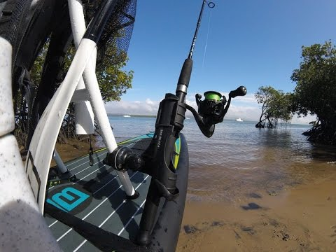 BOTE Boards Tackle Rack rigging review with RAILBLAZA