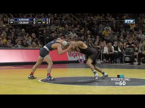 Wrestling in 60: 125 Pounds - Suriano vs. Gilman