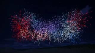 Stars Spangled Banner   Fireworks   Planet Coaster
