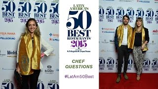 Four questions for the chefs of Latin America's 50 Best