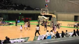 2016 女子決勝 埼玉vs長崎 4Q3 ジュニアオールスター 中学バスケ