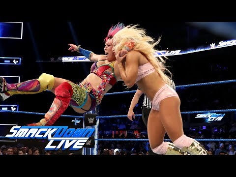 The Kabuki Warriors Vs. Fire & Desire: SmackDown LIVE, Sept. 24, 2019