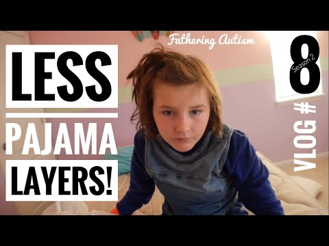 Autism Pajamas Less Is More   We Forgot The Kids In This One   Fathering Autism Vlog #8