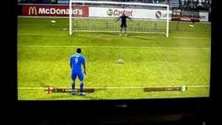 UEFA Euro 2008 XBOX 360 - Penalty Shoot out