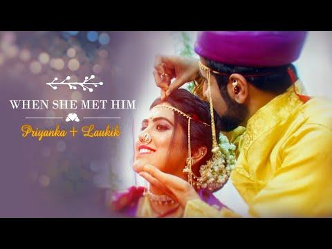 WHEN SHE MET HIM || Priyanka + Laukik || Best Marathi Wedding Highlight 2020 || Sunil Mirajkar Films