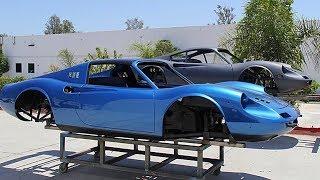 1974 Ferrari Dino 246 GTS Full Restoration Project