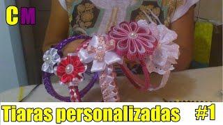 Como fazer tiaras personalizadas