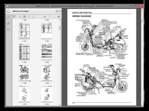 Daelim s2 125 workshop service repair manual wiring youtube daelim s2 125 workshop service repair manual wiring asfbconference2016 Image collections