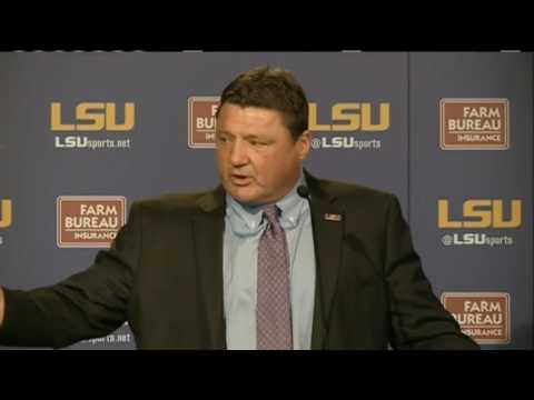 Watch again: LSU names Ed Orgeron as new head football coach