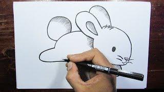 Desenhando um Coelho Fofinho