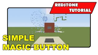 "Simple Magic Button ""Redstone Tutorial"" (Minecraft Xbox TU19/PlayStation CU7/PS Vita)"