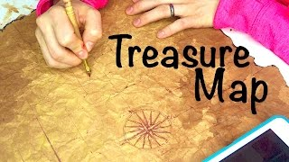 How To Make A Pirate Treasure Map!