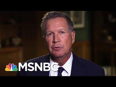 John Kasich On President Donald Trump: Feels Like A Parallel Universe  Hardball  MSNBC