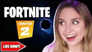 🔴Fortnite Chapter 2 going live soon?! | Fortnite live stream🔴