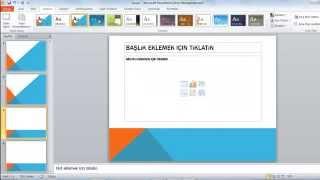 Microsoft Office - PowerPoint Kullanımı (Slayt nasıl yapılır? Basit Slayt Hazırlama)