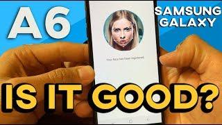 Samsung Galaxy A6 FACE ID 🧐(Facial Recognition / Iris Scanner)