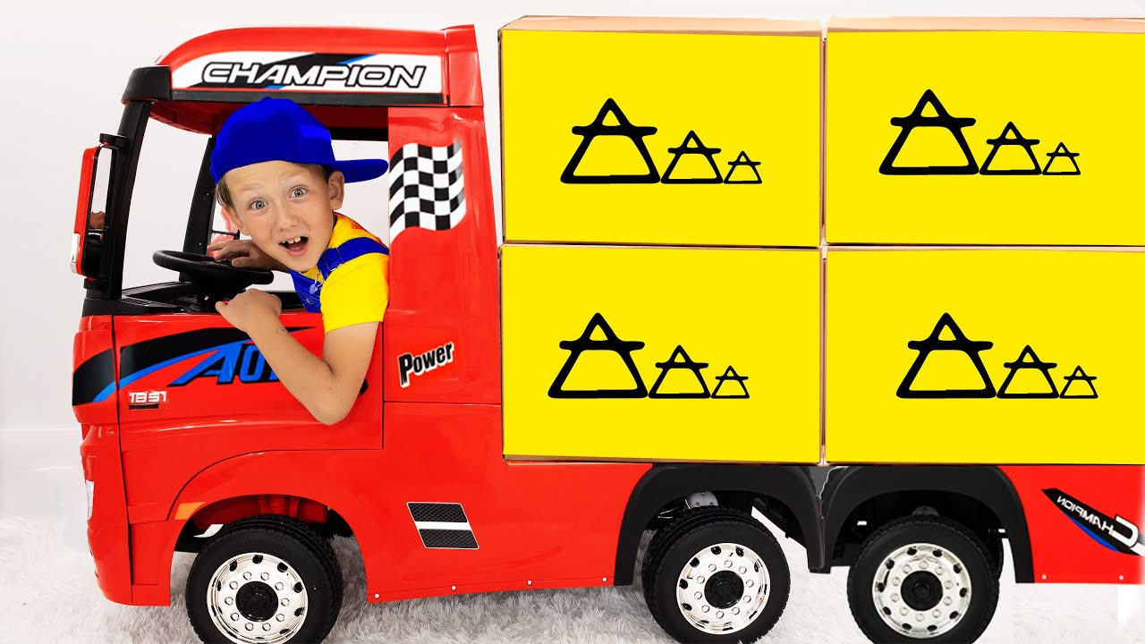 Супер Сеня и его истории про грузовик