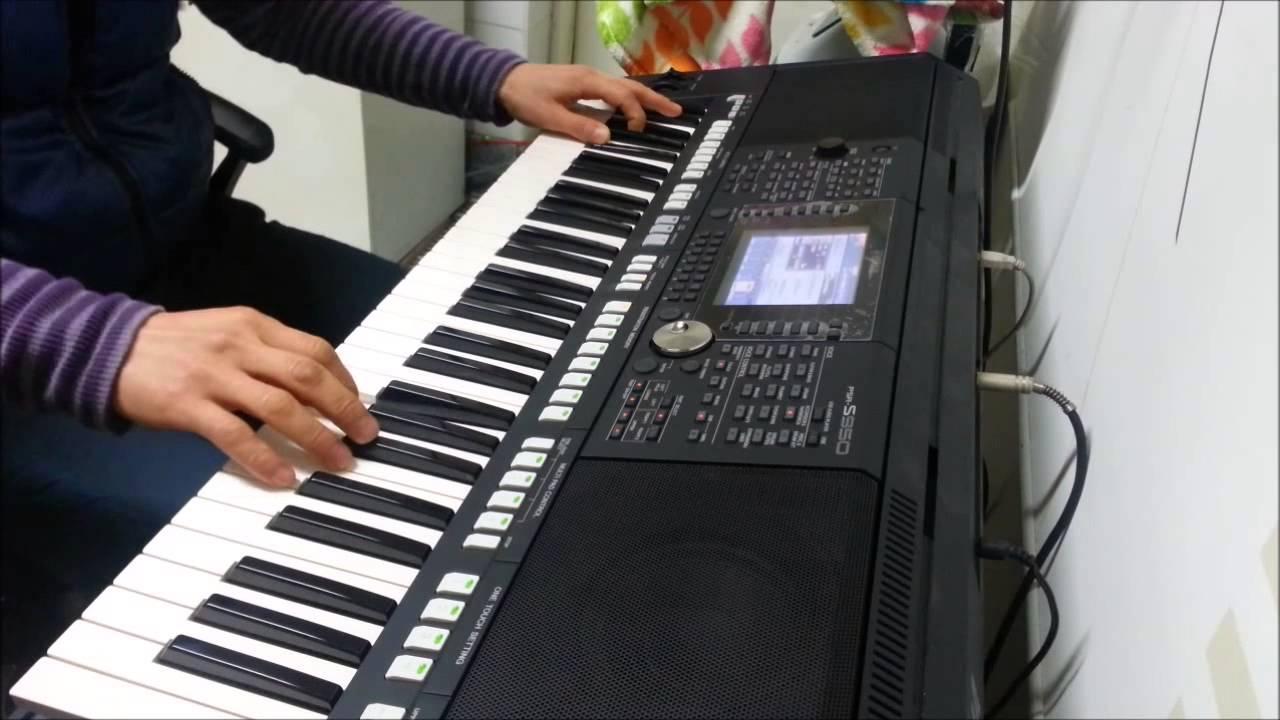 저리가1 8비트 Yamaha PSR-S950 - YouTube