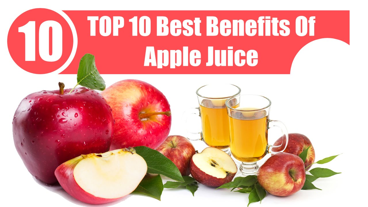 Top 10 Best Benefits of Apple Juice