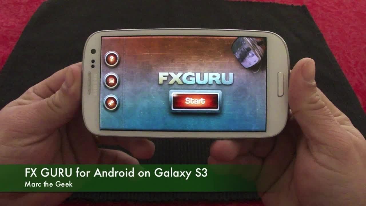 fxguru unlock code for android