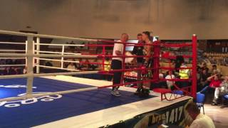 Violant Sylejmani vs Serbian Boxer 2015 Full Match