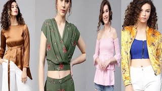 Top stylish fashion design tops collection for girls and women/awosam beautiful Tops